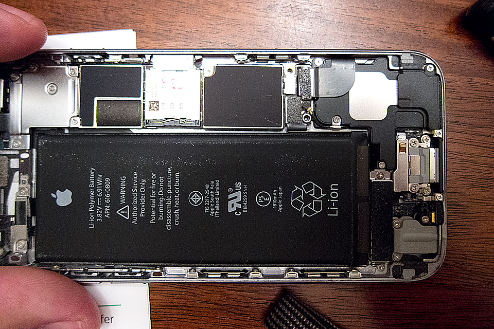 Cracking open the iPhone.
